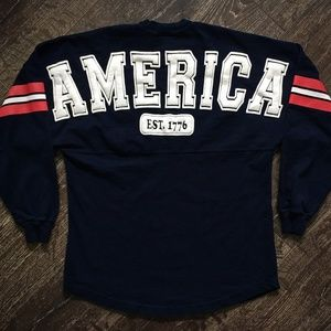"4th of July Vintage ""AMERICA"" USA Patriotic Shirt"